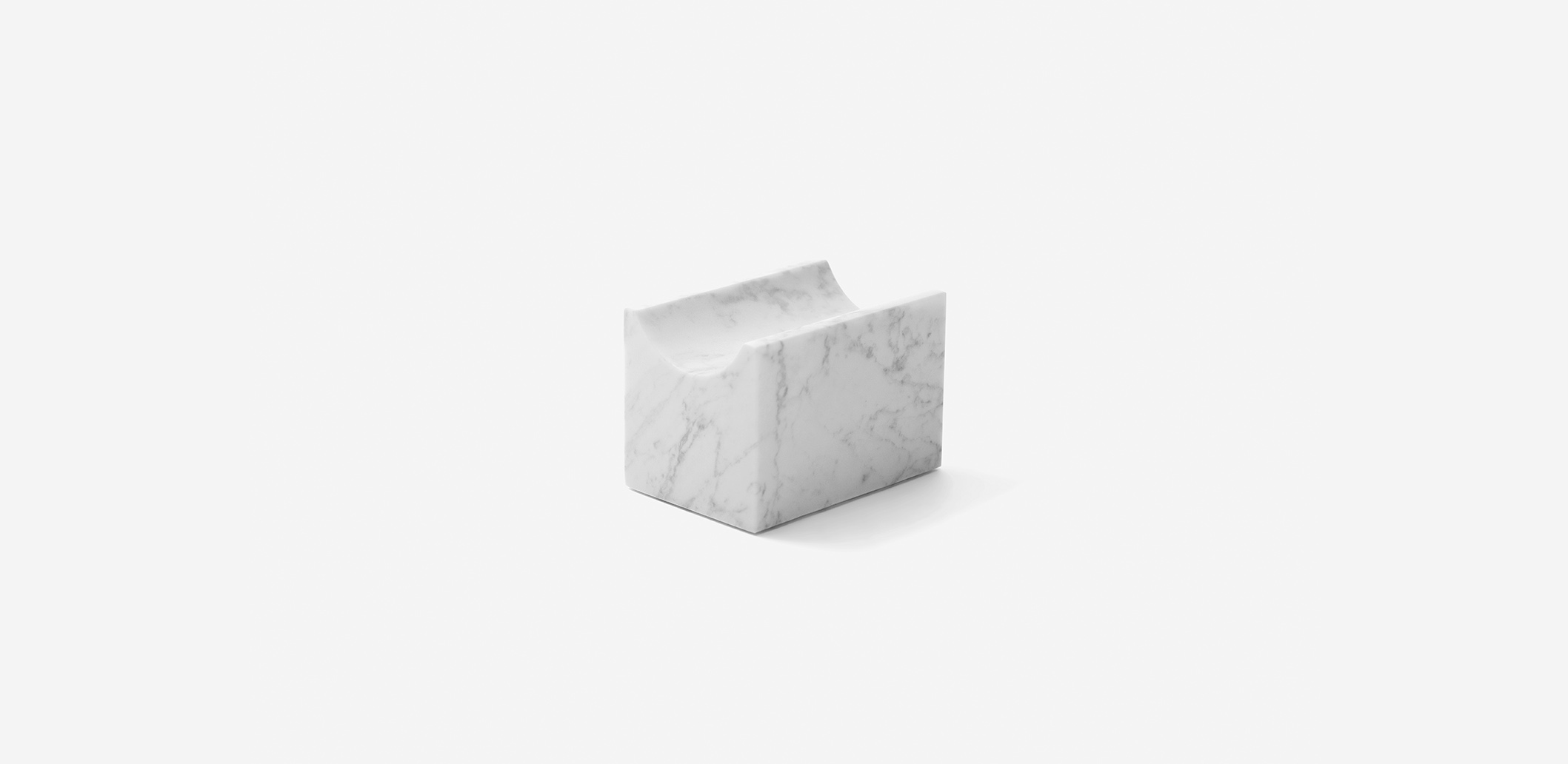 Marblelous Wine Holder - Carrara marble