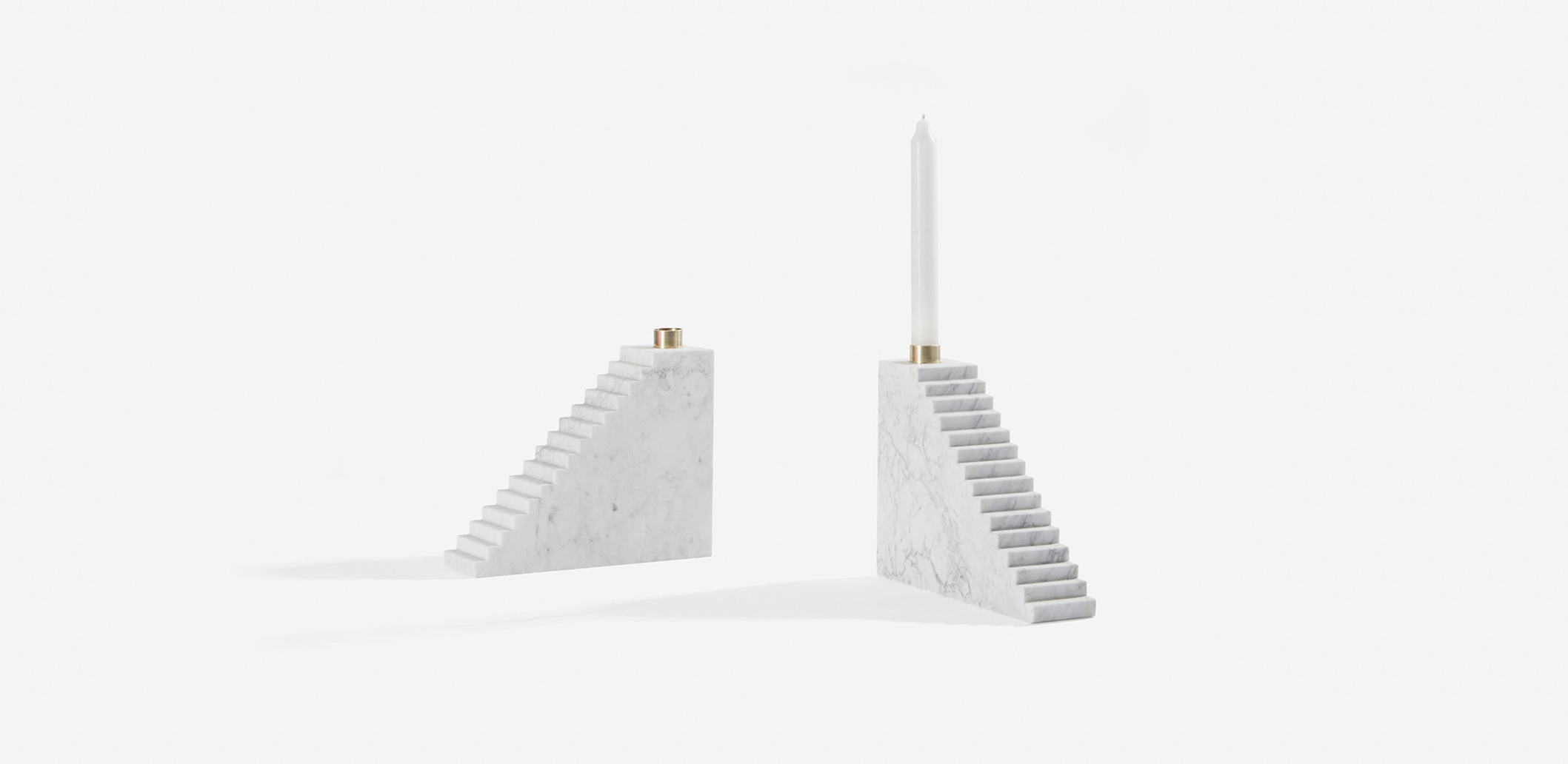 Marblelous Stairs - MRBL104 - candle holder