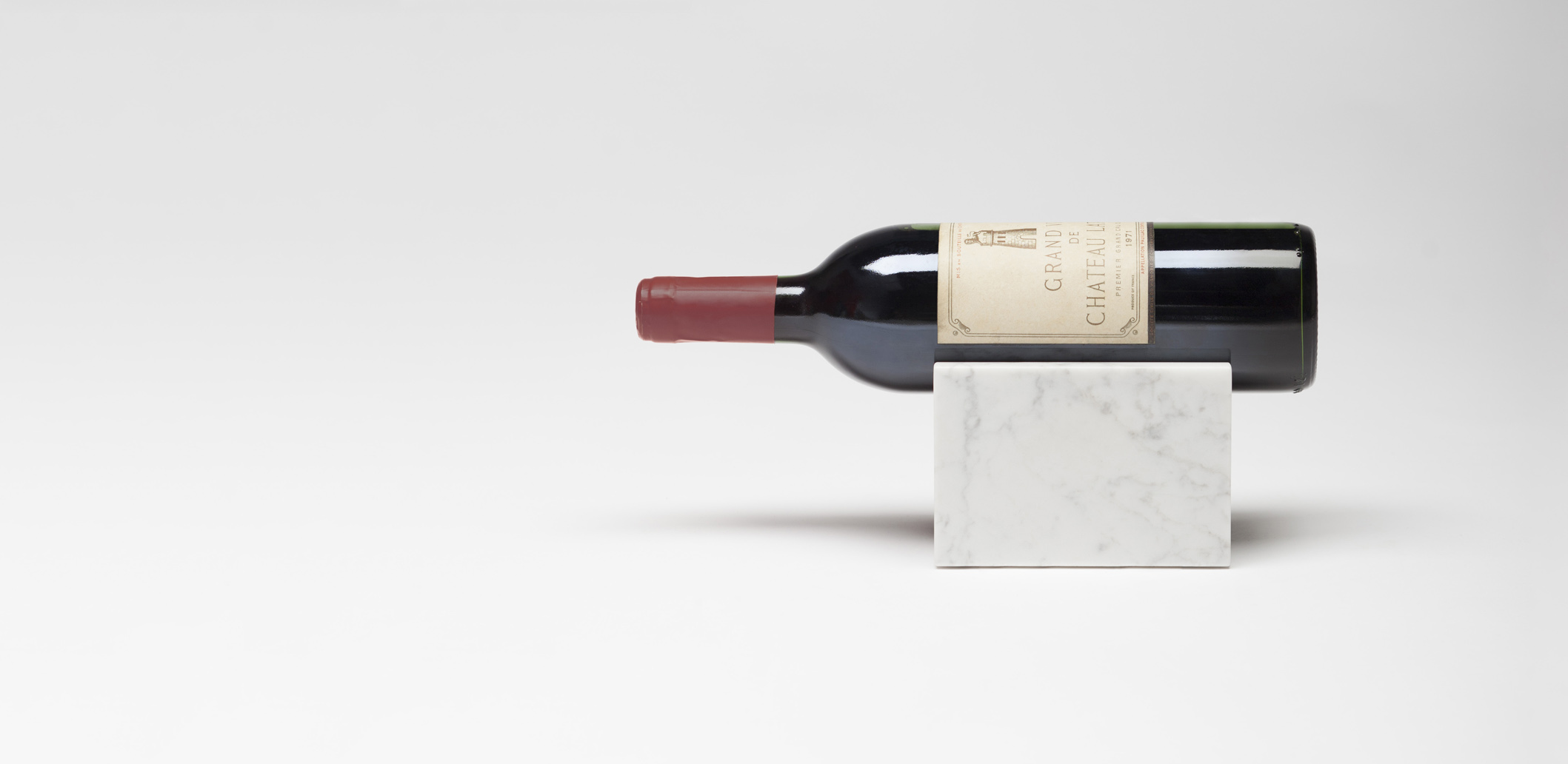Marblelous Wine Holder - Carrara marble - MRBL103