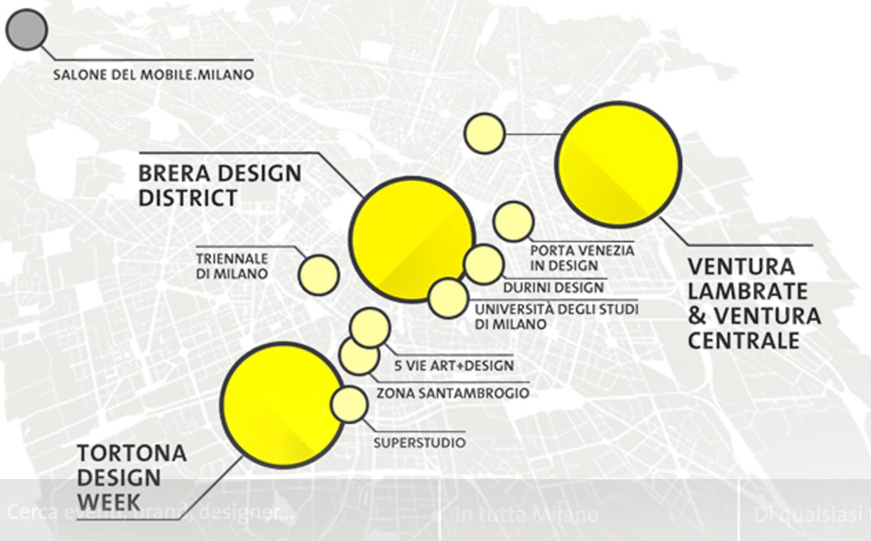 Fuera salone milano design week 2017