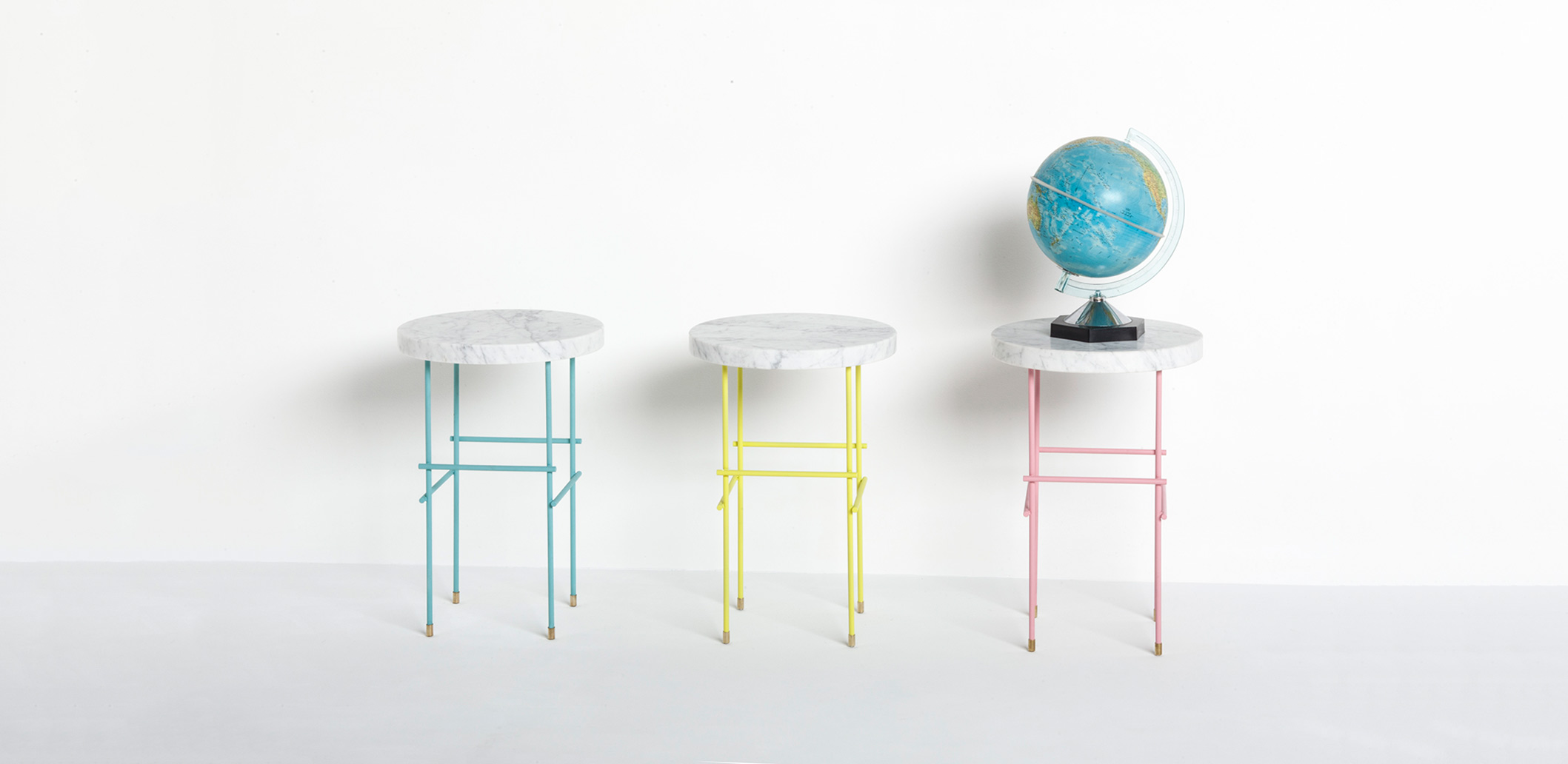 Marblelous pedestal in a world of colors